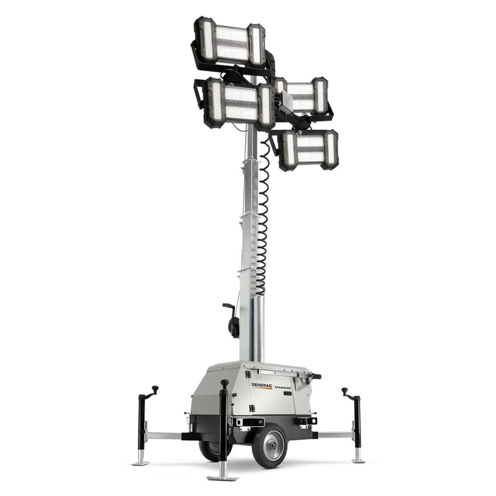 Portable Light Towers For Rent: Light Tower Link LED