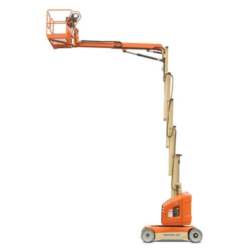 32' Electric Mast Boom Lift
