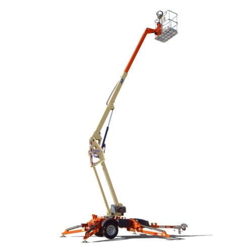 35' Articulated Towable Boom Lift