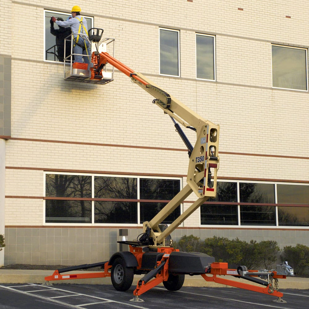 35' Articulated Towable Boom Lift - Miami Tool Rental