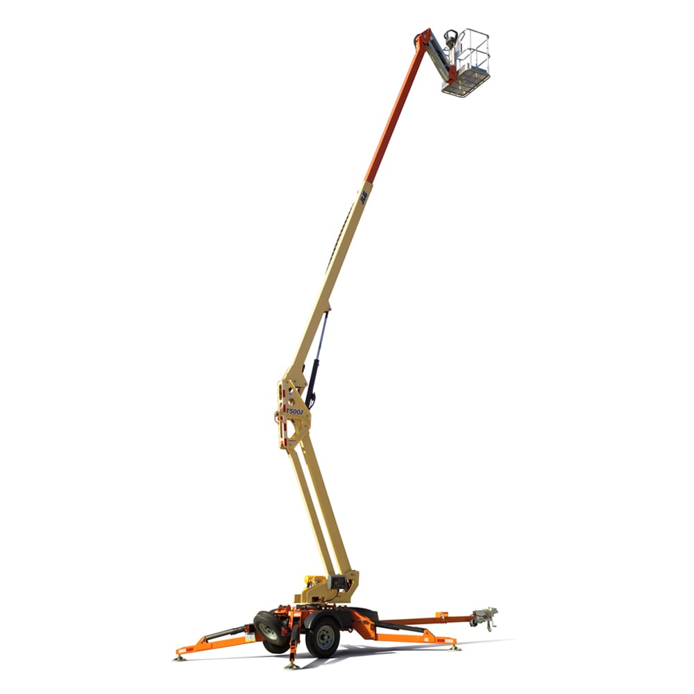 50' Electric Towable Boom Lift