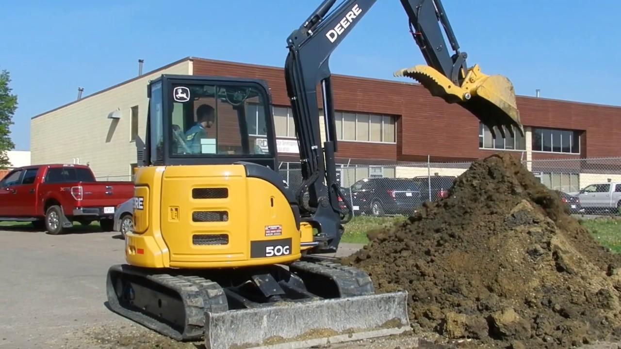 10000lb Mini Excavator Model- 50G
