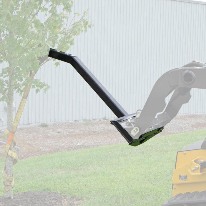 Tree Boom pulling a tree