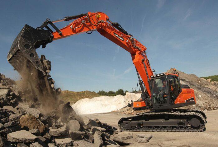 56000lb Excavator Model- DX235LCR-5