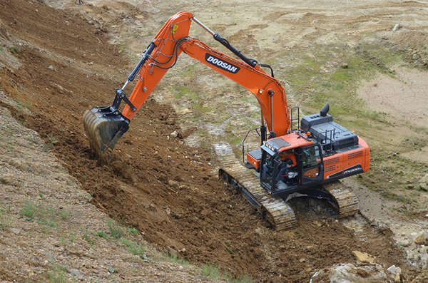 69000lb Excavator Model- DX300LC-5